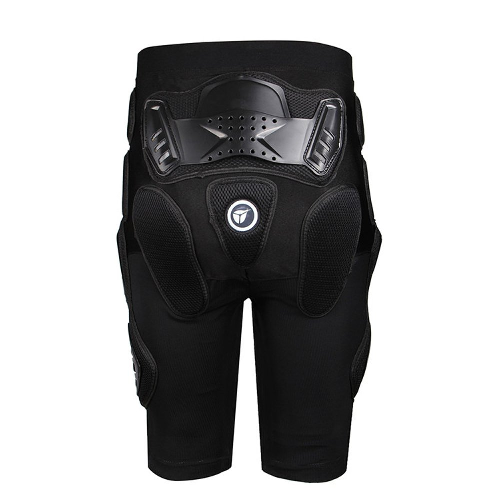 HEROBIKER Unisex Moto Sport Protective Gear Hip Pad Motorcross Off-Road Downhill Mountain Bike Skating Ski Hockey Armor Shorts (XL) by HEROBIKER (Image #2)