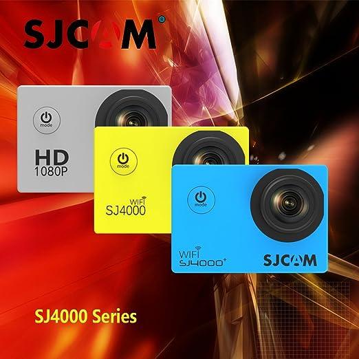 Black, SJ4000 Standard Kit: Original Sjcam 4000 Series Sj4000  amp; SJ4000 WiFi  amp; SJ4000 Plus Sport Action Camera 30M Waterproof Camera HD 2K Sj C