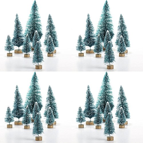 - Factory Direct Craft Assorted Size Mini Sisal Trees 32 Pcs