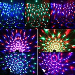 61pjMGZJHfL. SS300  - Zacfton-Mini-LED-Lichteffekte-Disco-Licht-Party-Licht-Bhnenbeleuchtung-3W-RGB-Sprachaktiviertes-Kristall-Magic-Ball-Bhnenlicht-fr-KTV-Xmas-Party-Hochzeits-Show-Club-mit-Fernbedienung  Zacfton-Mini-LED-Lichteffekte-Disco-Licht-Party-Licht-Bhnenbeleuchtung-3W-RGB-Sprachaktiviertes-Kristall-Magic-Ball-Bhnenlicht-fr-KTV-Xmas-Party-Hochzeits-Show-Club-mit-Fernbedienung 61pjMGZJHfL