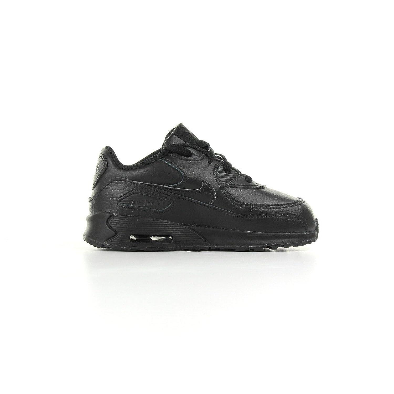 Amazon.com | nike air max 90 (TD) kids trainers 408110 sneakers shoes (UK  5.5 us 6C EU 22, black black 002) | Running
