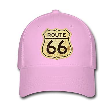 Populer America Cadillac Route 66 Logo Custom Printing Baseball Caps Sun  Hats at Amazon Women s Clothing store  14a638c1d2