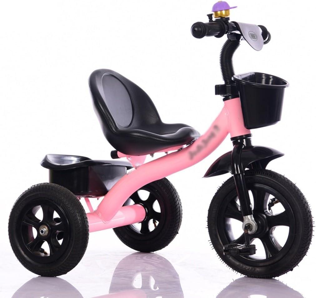 &Cochecito de bebé Triciclo para bebés, Pedal convertible Trike ...