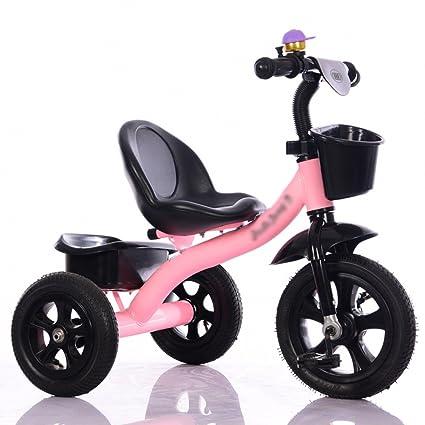 ZGP &Cochecito de bebé Triciclo para bebés, Pedal Convertible Trike Bicicleta de Empuje Bicicleta de