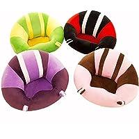 GXY Coussin de Chaise bébé Motif coloré Mignon siège de bébé Canapé Enfant Coussin de Voiture Doux Jouets en Peluche Chaise de Table Ronde à mobilier pour Enfants
