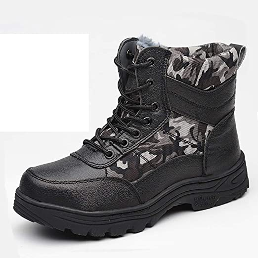 Military Police Boot Cap Safety Shoes