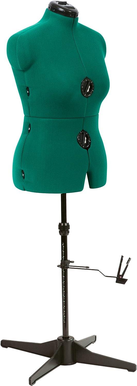 Dritz Sew You Adjustable Dress Form, Medium, Opal Green
