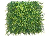 e-joy 12 Piece Artificial Topiary Hedge Plant Privacy Fence Screen Greenery Panels Suitable for Both Outdoor or Indoor, Garden or Backyard and Home Decorations