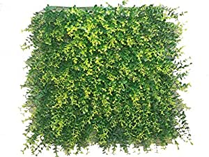 e-joy 24 Piece Cover 66 sq. ft. Artificial Ficus Topiary Hedge Plant Privacy Fence Screen Greenery Panels for Both Outdoor or Indoor, Garden or Backyard Decorations
