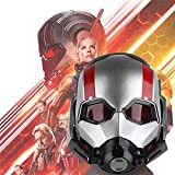 K-Y YK Ant-Man 2 and the Wasp 2018 Halloween Collector's Edition Ant-Man Warrior Helmet Cosplay Headgear Adult Horror Mask