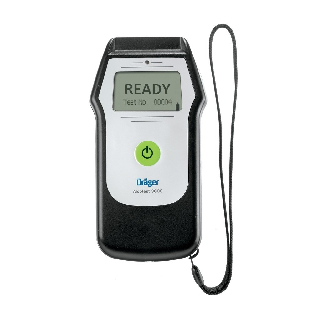 ACE Breathalyzer Dr/äger Alcotest 3000 the little brother of the German police tester UK-Version