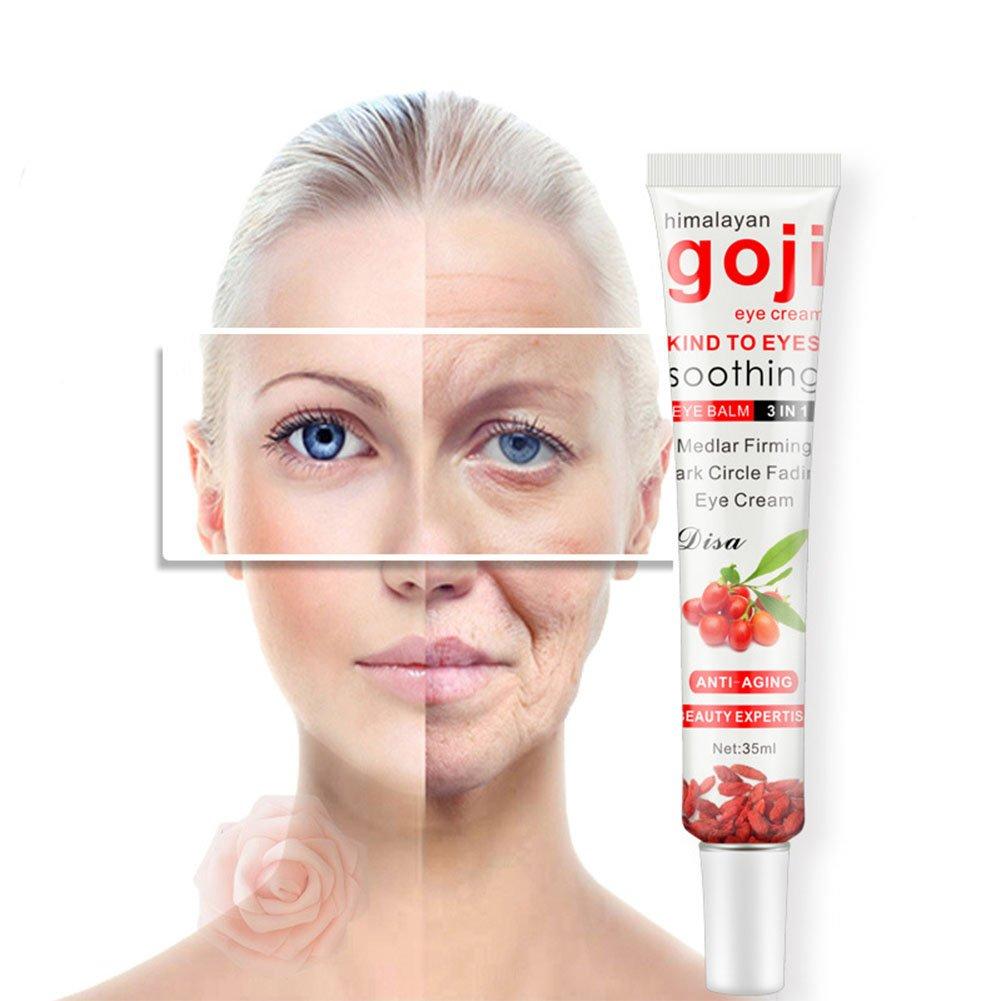 Amazon Leoie Goji Eye Cream Multi Effect Repair Moisturizing