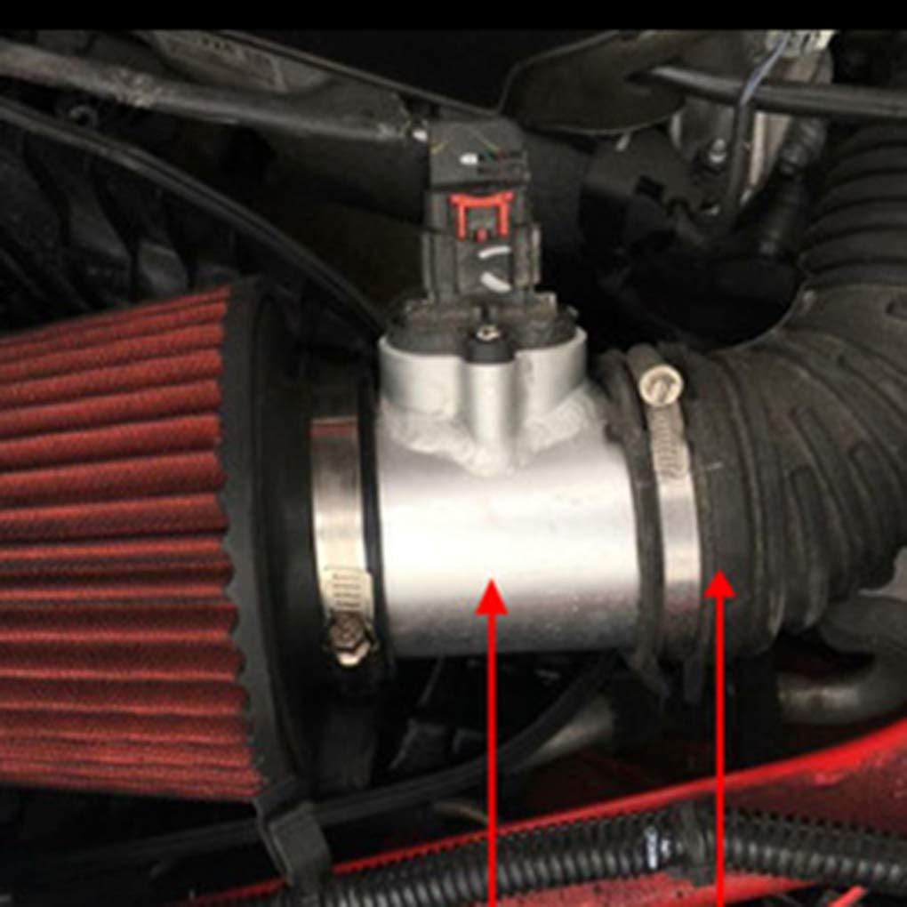 Dergtgh Medidor de Flujo de Aire Base de Toma de Aire del Sensor Conector Adaptador de Repuesto de 76 mm 3.0 para Cadillac
