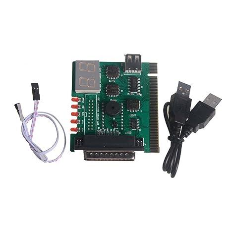 USB PCI PC portátil analizador de la placa base Tarjeta de ...