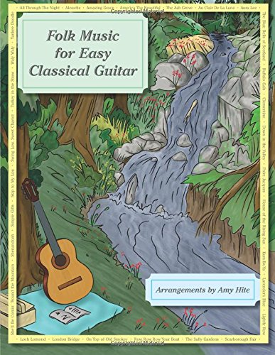 Folk Music For Easy Classical Guitar