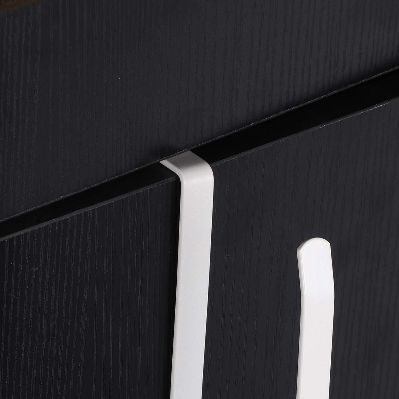 PetHot Kitchen Paper Roll Holder Punch-Free Trivets Towel Rack Installed On The Shelf Cabinet Kitchen Roll Rack