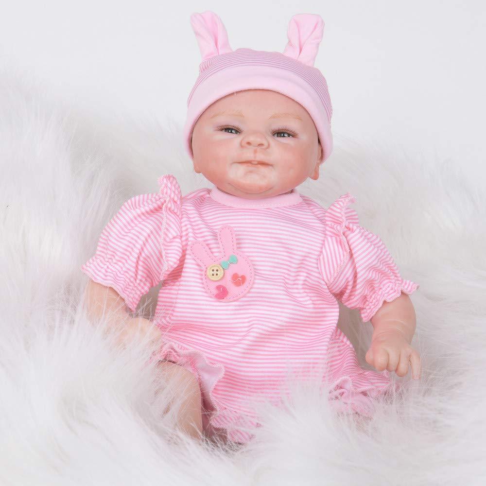 感謝の声続々! Dirance 17インチ 本物そっくり リボーンドール オープンアイズ ソフトシリコンビニール フルボディ B07P6NDTPJ リアルなピンク DR 女の子人形 60ドル以下 リアルな新生児 ベビードール衣装 キッズギフト 対象年齢3歳以上 60ドル以下 F DR A B07P6NDTPJ, Mr.vibes web store:f02d95a8 --- a0267596.xsph.ru