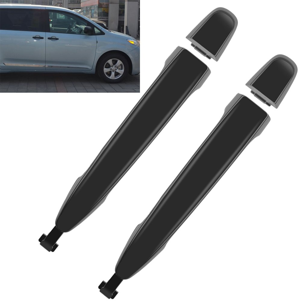 2x Rear Sliding Door Handle 6921308020 For Toyota Sienna 2004-2010 Left/Right Driver/Passenger Side Hoypeyfiy