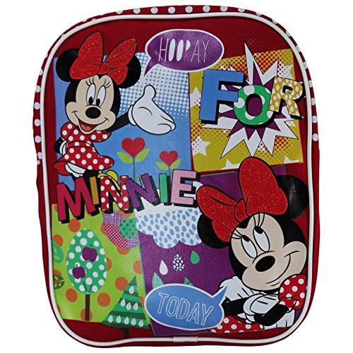 Disney Minnie Mouse Mochila Saco Bolso Escolar Asilo Lonchera para el Niño por Niña Chica: Amazon.es: Equipaje