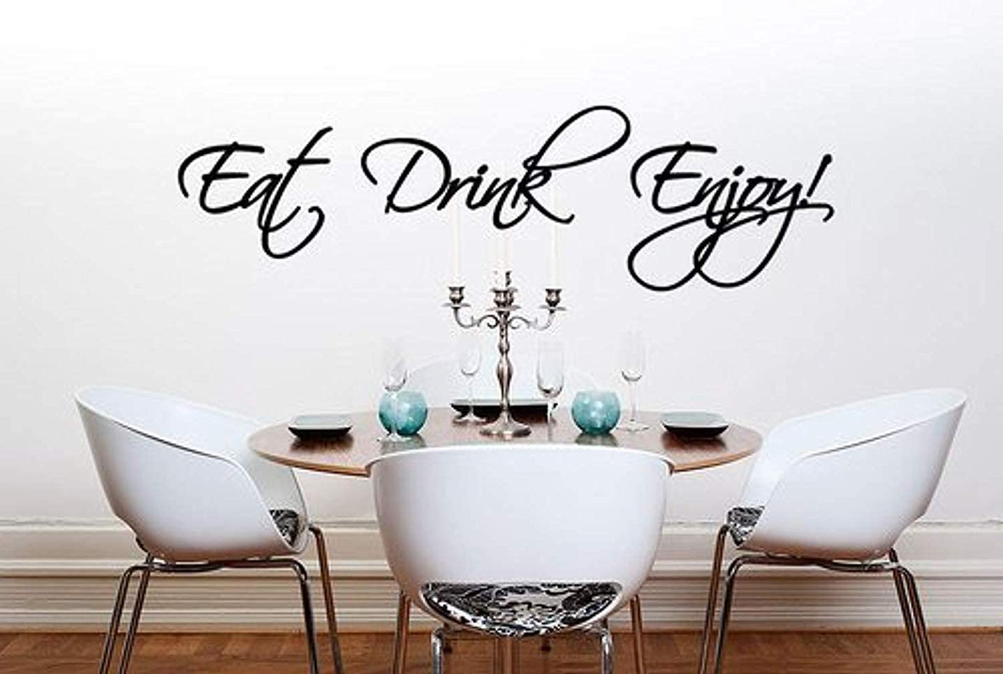 Wall Tattoo Wall Sticker Kitchen Sayings Eat is a desire NR 4 Wall Stickers