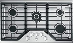 GE CGP95362MS1 36 Inch Gas Cooktop