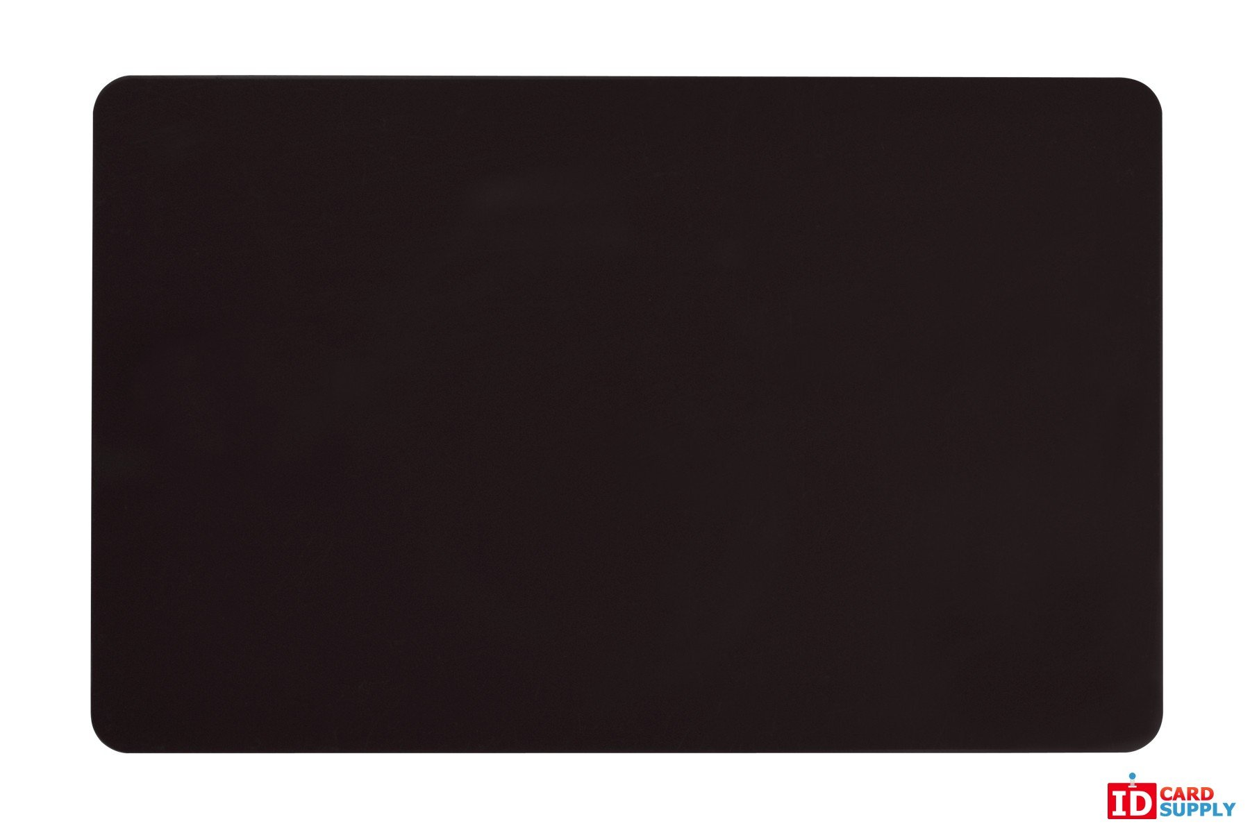 Pack of 100 Black CR80 PVC Cards   30 mil by easyIDea