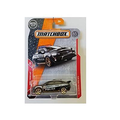 Matchbox MBX Rescue 15 Subaru WRX STI 67/125 Police Car 14/30 Of Series: Toys & Games