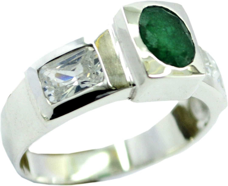 CaratYogi Real Garnet Sterling Silver Ring Round Shape Bezel Style Partywear Sizes 5 6 7 8 9 10 11 12