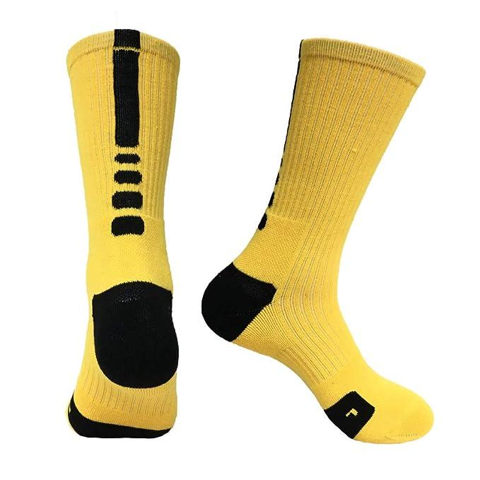 JAZ6 3 pares de calcetines deportivos de rizo para hombre en el ...