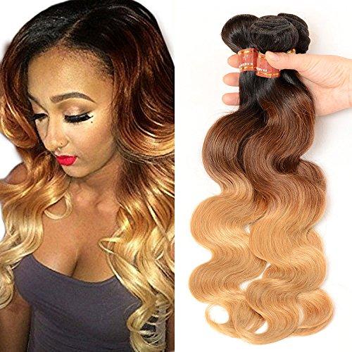 Brazilian Hair 4 Bundles,Black Rose Brazilian Virgin Body Wave 14