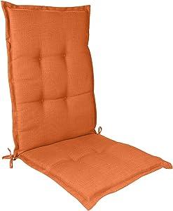 Greatideal Seat Cushion Pillow for Office Computer Chair, Garden Chair Cushion, Outdoor Comfortable Non-Slip Sponge Core High Back Patio Chair Cushion