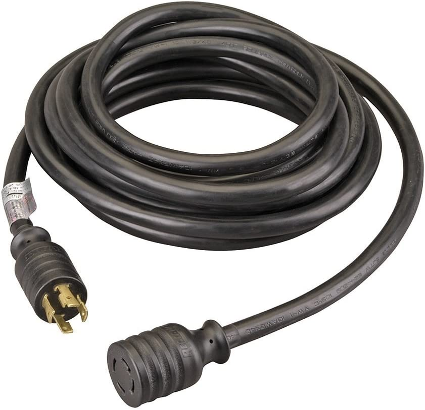 Black Pack of 2 Reliance Controls PC3020 PC3020K Generator Power Cord