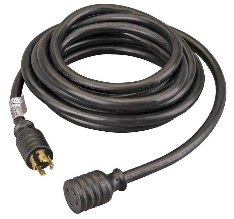 Reliance Controls PC3020 PC3020K Generator Power Cord, Black by Reliance Controls