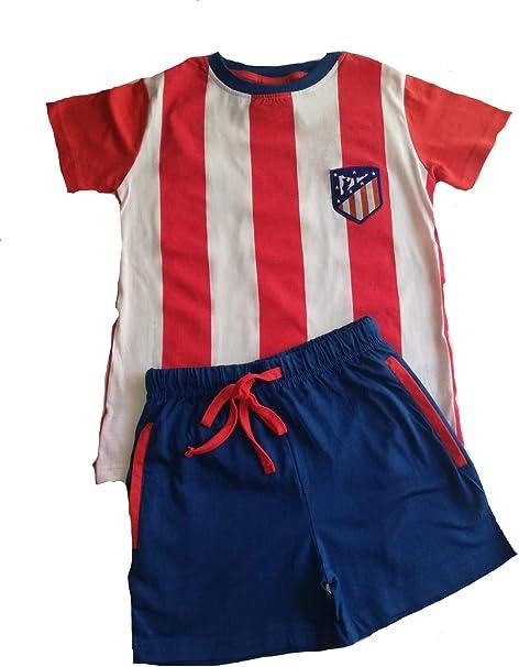 Atletico Madrid Pijama Adulto Verano (XXL): Amazon.es: Ropa y ...