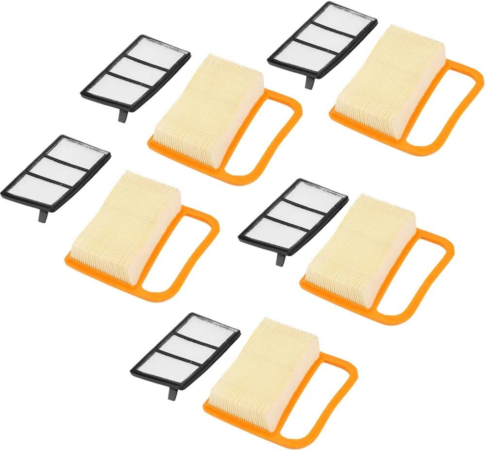 Nancunhuo 5 Teiliges Luftfilter Set Passend For Stihl Ts410 Ts420 Kappsäge Küche Haushalt