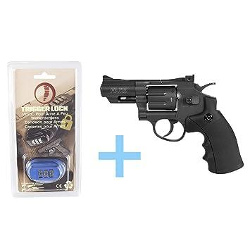 Gamo Pack Revolver Aire Comprimido (CO2) PR-725 / Full Metal, Revolver