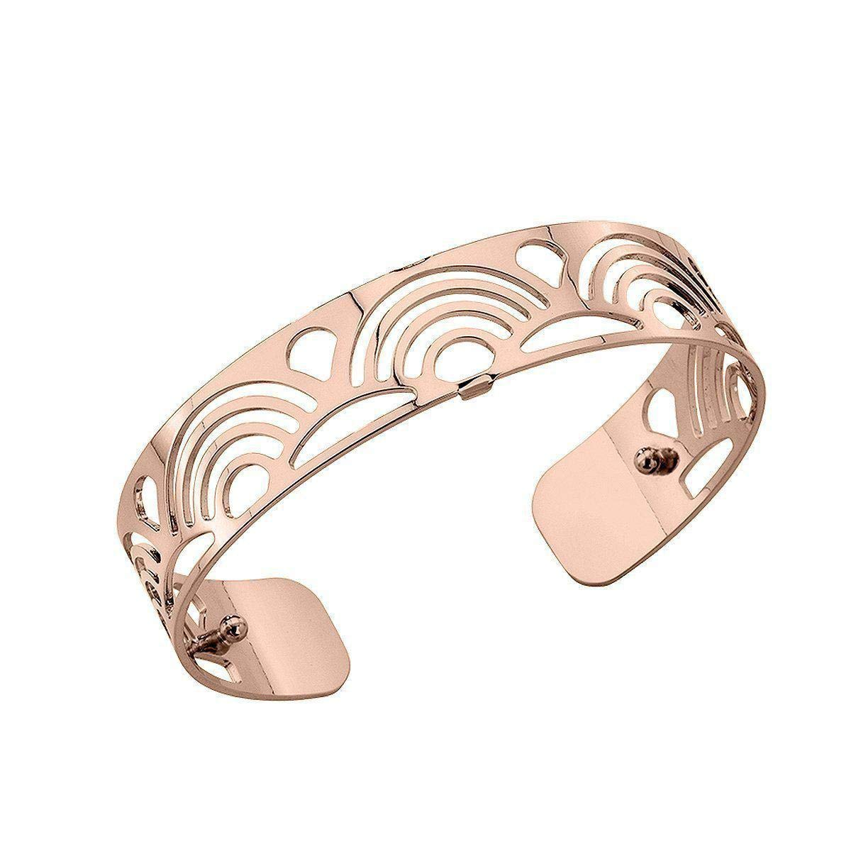 Les Georgette Poisson 14mm Cuff in Rose Gold