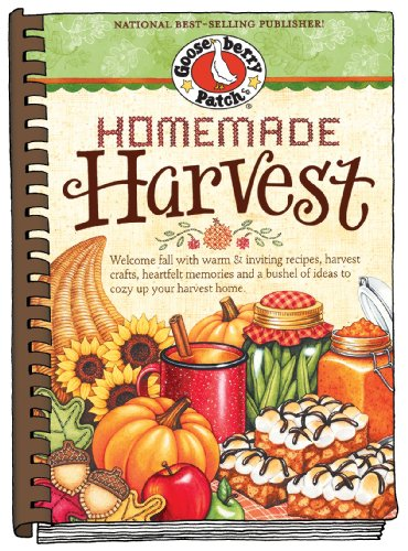 Homemade Harvest: Welcome fall with warm & inviting recipes, harvest crafts, heartfelt memories and a bushel of ideas to cozy up your harvest home. (Seasonal Cookbook Collection)]()
