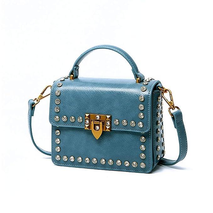 es Niñas Bandolera Cadena Adolescentes Con Bolso Amazon Y Ropa Mujer Diamante Para Azul Accesorios Moda qP1nnSwX4