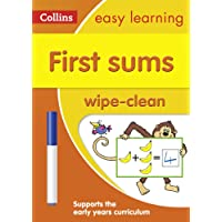 First Sums Age 3-5 Wipe Clean Activity Book (Collins Easy Learning Preschool)