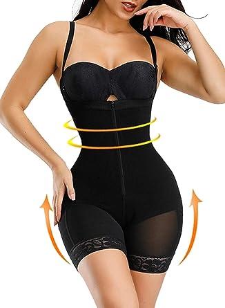 GOSOPIN Women Shapewear Tummy Control High Waist Thigh Slimmer Knickers Lingerie Slips S-XXL