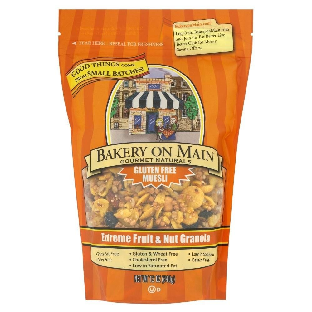 Bakery on Main Extreme Fruit & Nut Gluten Free Granola (340g) - Pack of 2