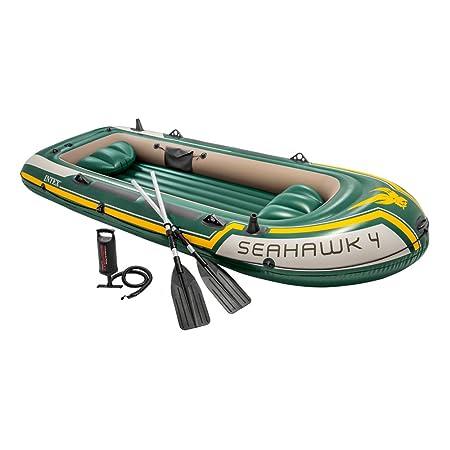 Intex 68351NP - Barca Hinchable Seahawk 4 con Remos 351 x 145 x 48 cm