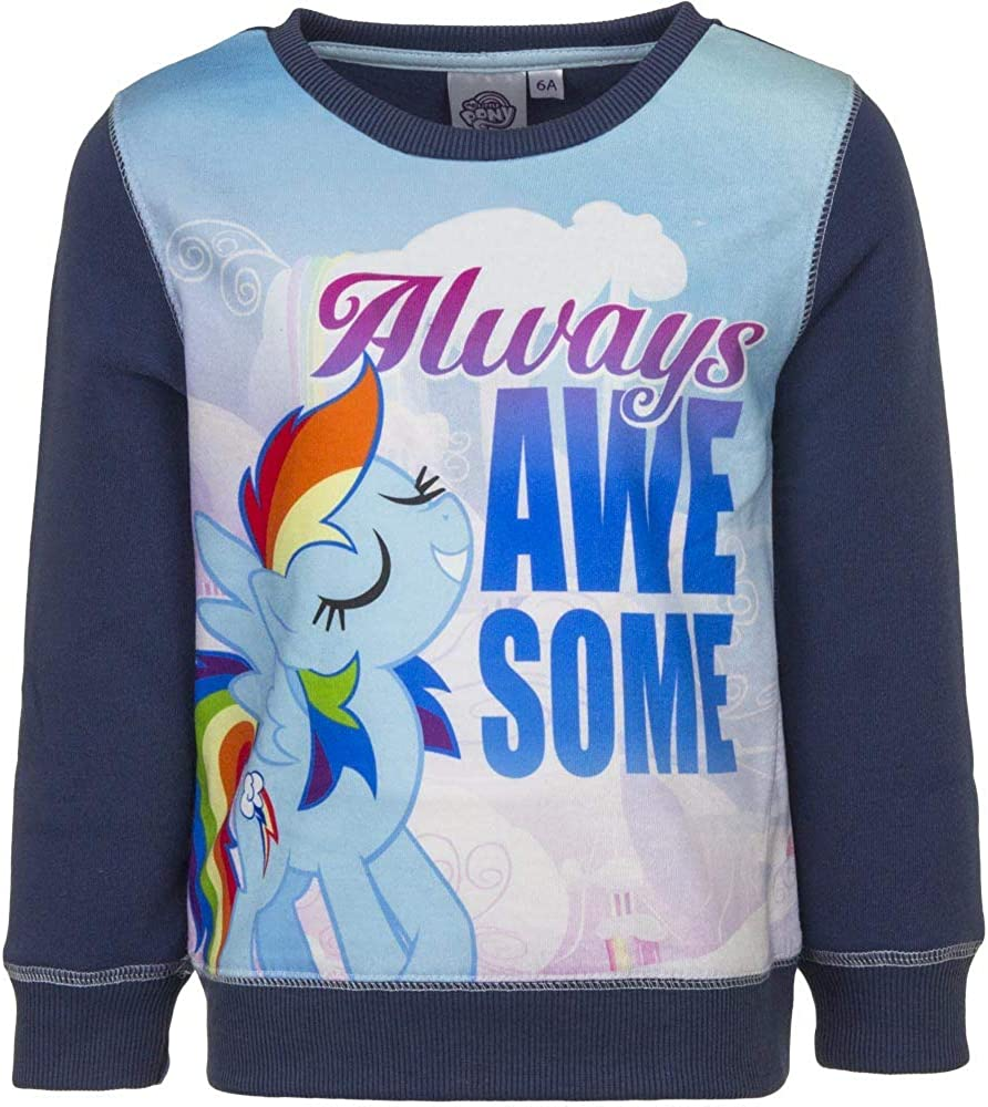 Little Pony Girls Jumper Sweatshirt