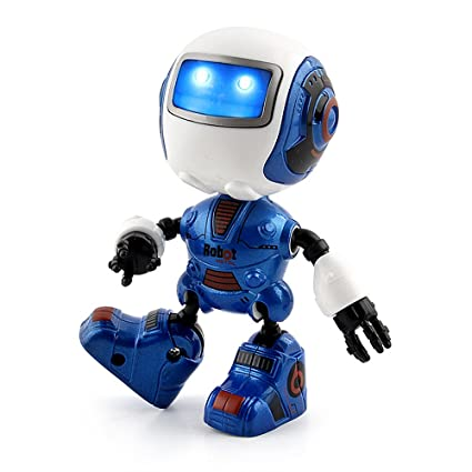 Amazon Com Mini Toy Robot Intelligent Induction Multi Funtional Fun