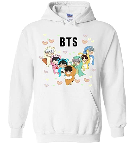HELUXUEA Hombre The Incredible BTS Chibi Costume 4th Muster Happy Ever After Hoodie/Sudaderas con Capuchas Sweatshirts: Amazon.es: Ropa y accesorios