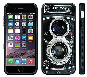Pink Ladoo? Apple iPhone 6 Black Case - Vintage Retro Rolliecord Camera Old