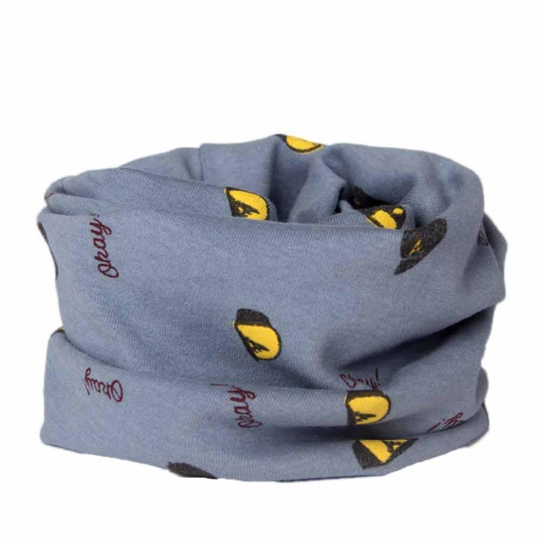 Baby Scarves,Huhua Cotton Neckerchief Fashion Warm Muffler for 2-10 Years Old