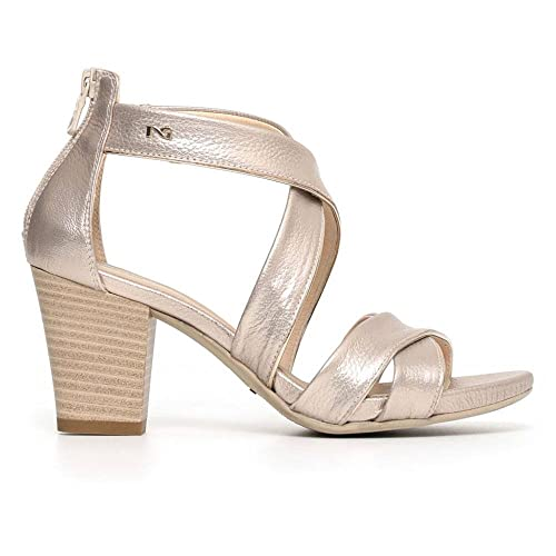NERO GIARDINI sandali donna pelle bianco 36 P805650D 5650