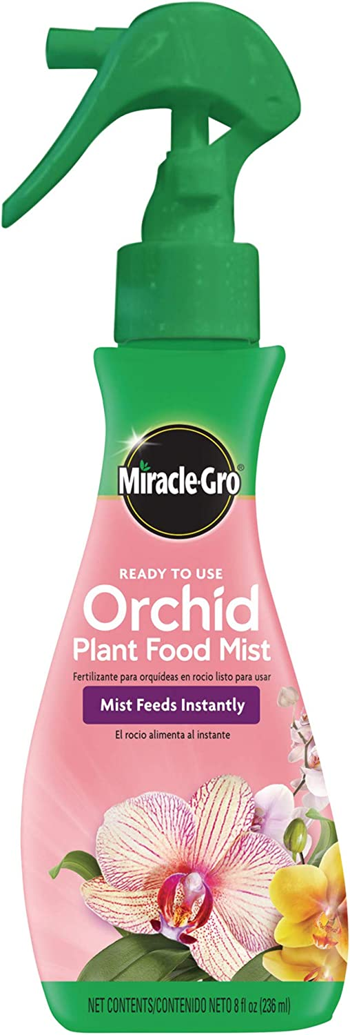Miracle-Gro Ready-To-Use Orchid Plant Food Mist, 8 oz., Orchid Food Feeds Plants Instantly, 6 Pack